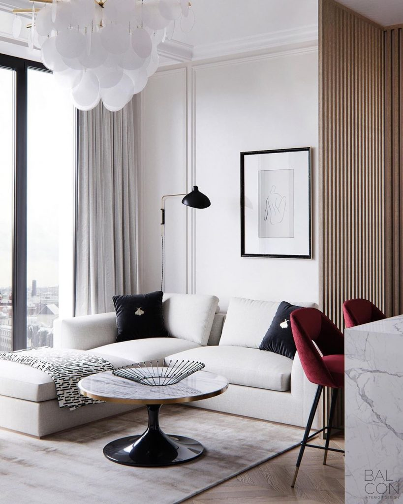 Most Beautiful Living Rooms of 2019 by Balcon Studio  Most Beautiful Living Rooms of 2019 by Balcon Studio balcon 2 819x1024