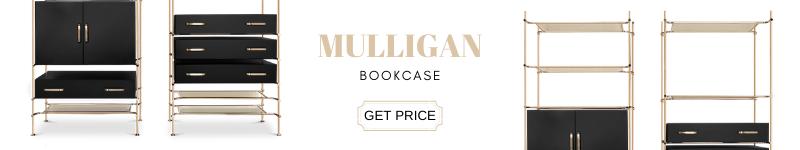 mid-century casegoods Mid-Century Casegoods Essentials For Any Modern Living Room mulligan bookcase