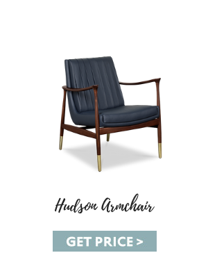 living rooms 10 Modern and Sophisticated Living Rooms That You Will Love hudson armchair 1