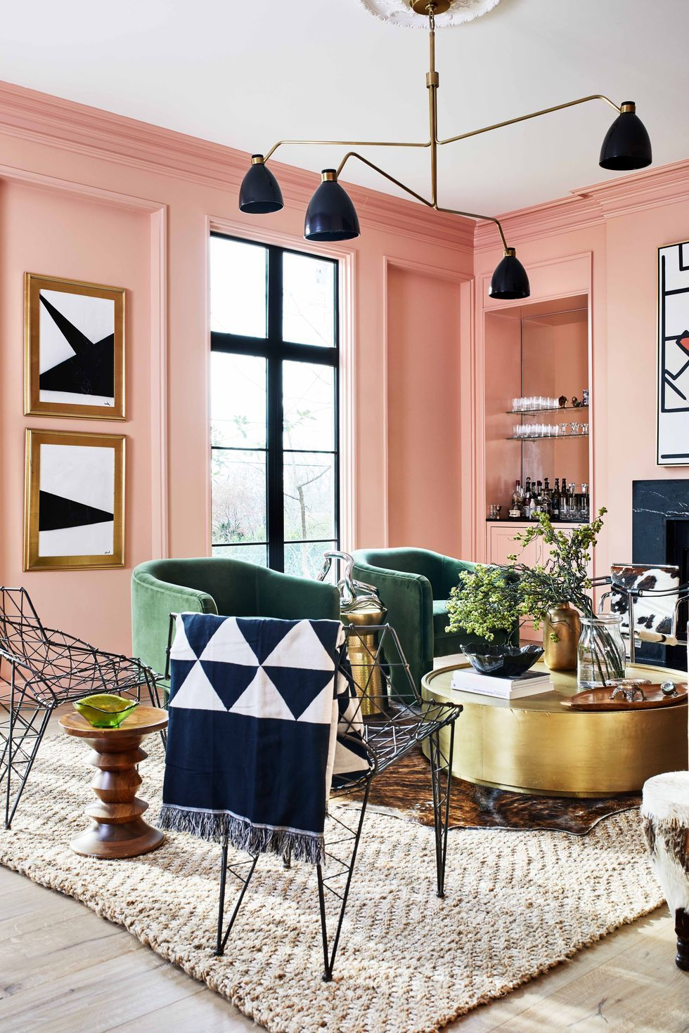 8 Creative Color Palettes For Your Living Room Decor _1
