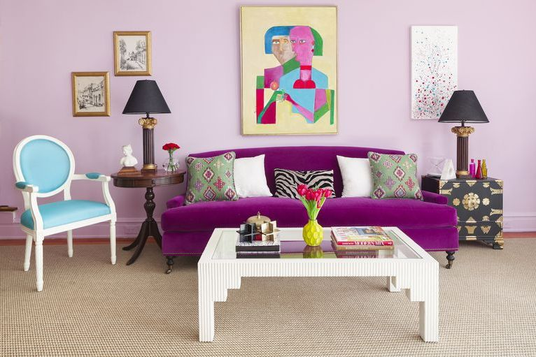 8 Creative Color Palettes For Your Living Room Decor _4