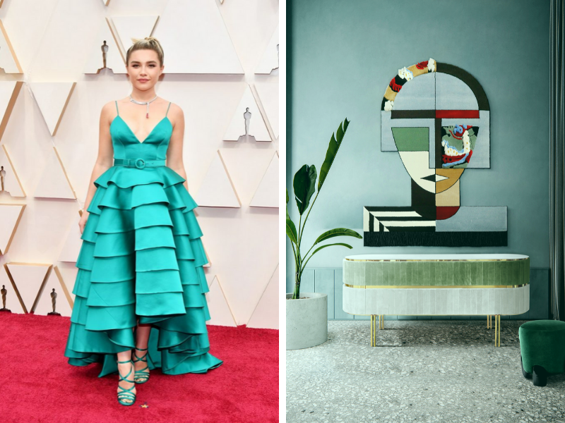 Shop The Look_ Oscars 2020 Red Carpet Trends Turned Into Home Decor_1 oscars 2020 Oscars 2020: Add Red Carpet Trends Into Your Home Decor With Our Suggestions Shop The Look  Oscars 2020 Red Carpet Trends Turned Into Home Decor 1