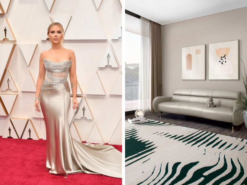 oscars 2020 Oscars 2020: Add Red Carpet Trends Into Your Home Decor With Our Suggestions Shop The Look  Oscars 2020 Red Carpet Trends Turned Into Home Decor feat