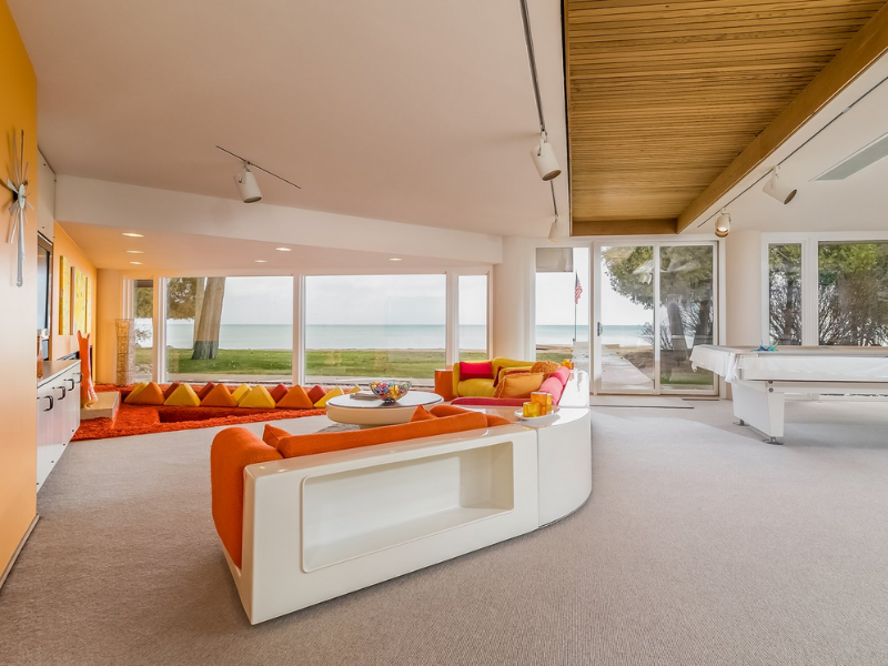 These Orange Living Rooms Will Make You Fall In Love All Over Again!_5 orange living rooms These Orange Living Rooms Will Make You Fall In Love All Over Again! These Orange Living Rooms Will Make You Fall In Love All Over Again 5