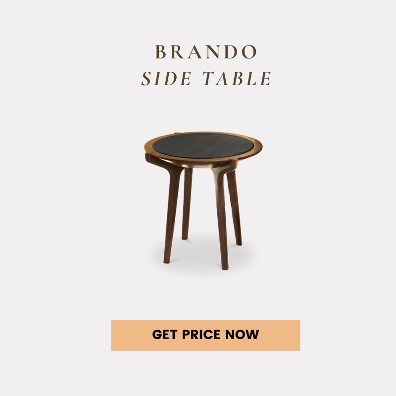mid-century modern living rooms 25 Mid-Century Modern Living Rooms Of Your Dreams brando side table get price 1