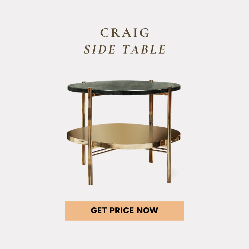 living room decor How To Use Marble In Your Living Room Decor craig side table get price