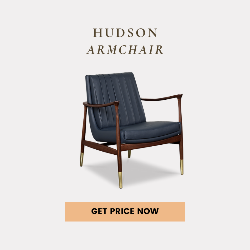 mid-century modern living rooms 25 Mid-Century Modern Living Rooms Of Your Dreams hudson armchair get price