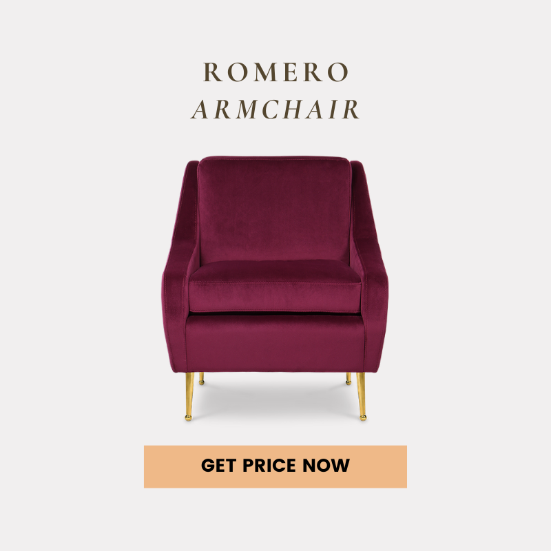 mid-century modern living rooms 25 Mid-Century Modern Living Rooms Of Your Dreams romero armchair get price 1