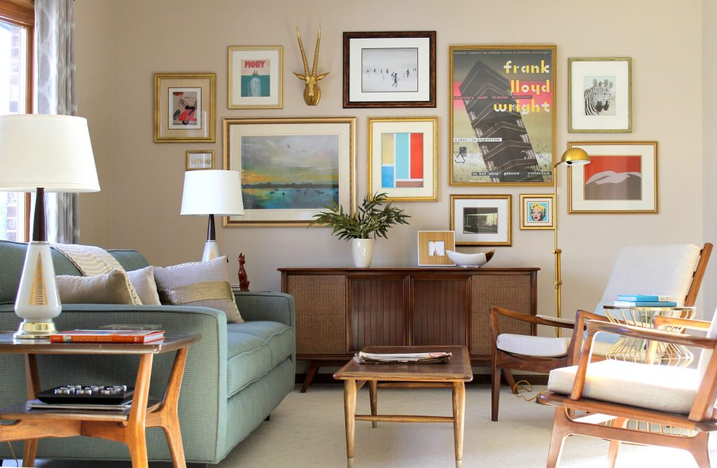 Can't go to the Museum? Get a Gallery wall in your Living Room!