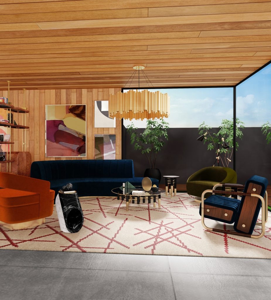 Discover Essential Home's Summer House Living Room!