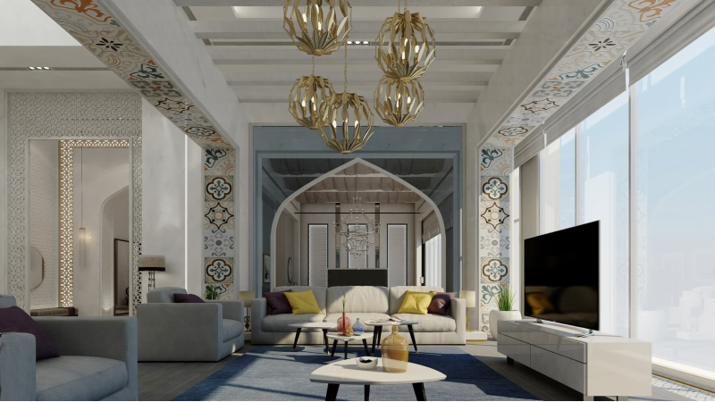 Arabic decor: Get a luxurious living room with these amazing ideas arabic decor Arabic Decor: Get a Luxurious Living Room with These Amazing Ideas! Arabic decor  Get a luxurious living room with these amazing ideas 1