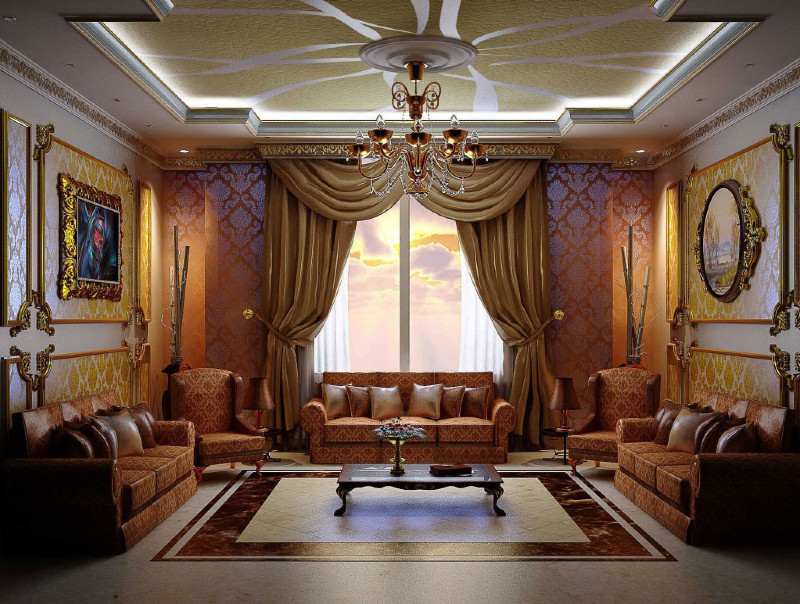 Arabic decor: Get a luxurious living room with these amazing ideas arabic decor Arabic Decor: Get a Luxurious Living Room with These Amazing Ideas! Arabic decor  Get a luxurious living room with these amazing ideas 12