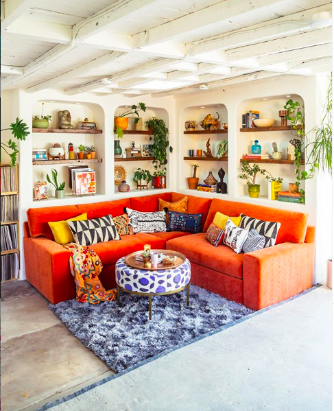 1️⃣0️⃣ Instagram Living Room that you have to check out! instagram living rooms 1️⃣0️⃣ Instagram Living Rooms That You Have to Check Out! Bold Design Living Room