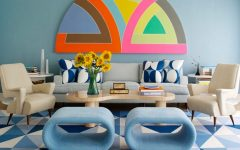 Learn some steps to get a 50's décor living room!
