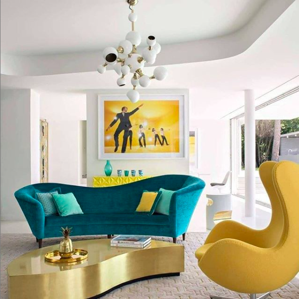 1️⃣0️⃣ Instagram Living Room that you have to check out! instagram living rooms 1️⃣0️⃣ Instagram Living Rooms That You Have to Check Out! Mid Century Living Room