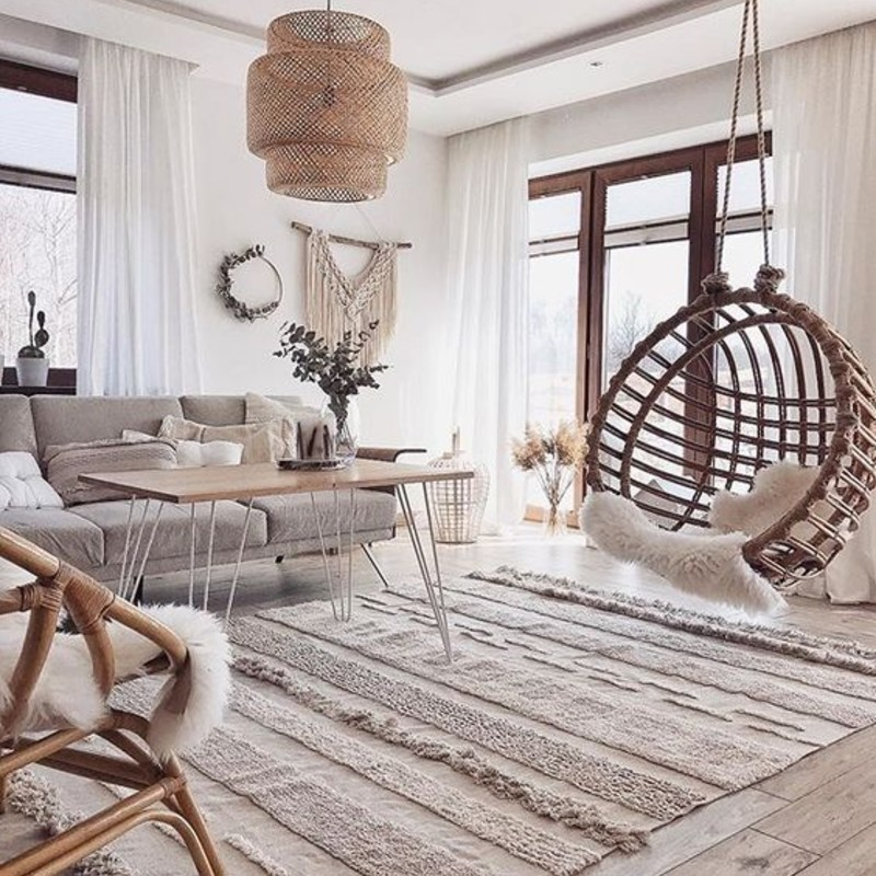 5 Living Room Design Ideas To Brighten Up Your Summer Season living room design ideas 5 Living Room Design Ideas To Brighten Up Your Summer Season Wicker living room 1