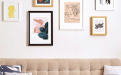 Gallery wall Living Room gallery wall Can't go to the Museum? Get a Gallery wall in your Living Room! a745acc5d3af4daaafc68aaa0293d836 240x150