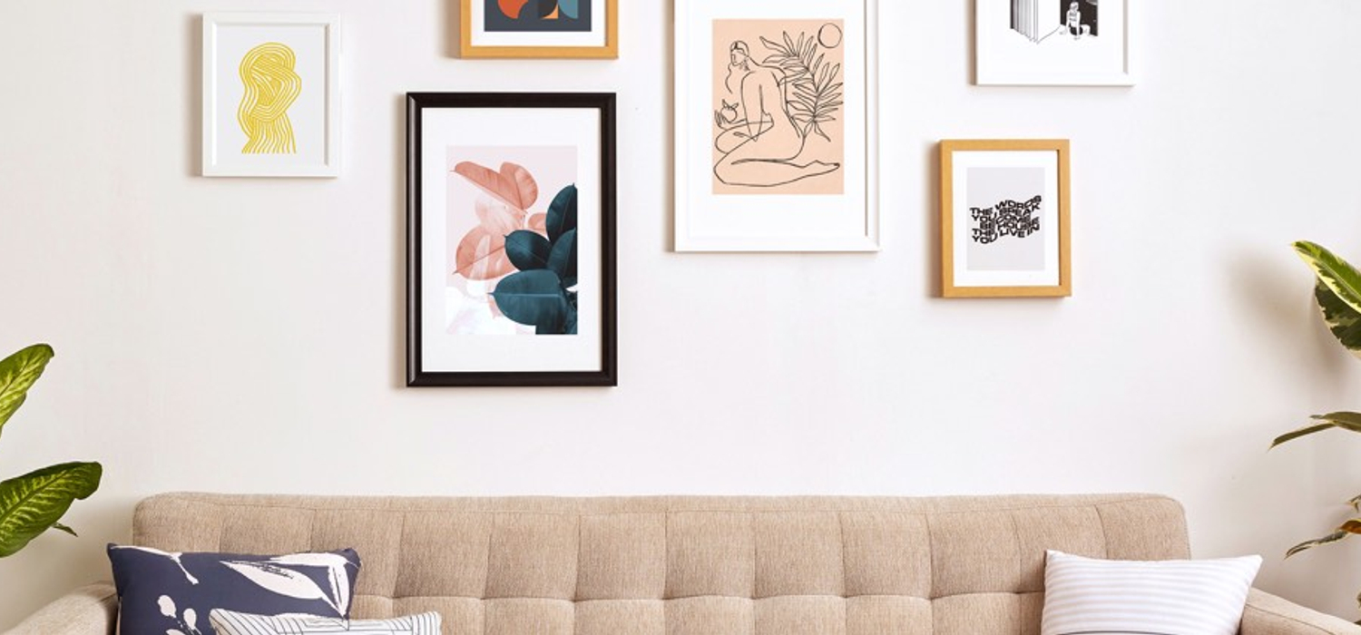 Can T Go To A Museum Get A Gallery Wall In Your Living Room