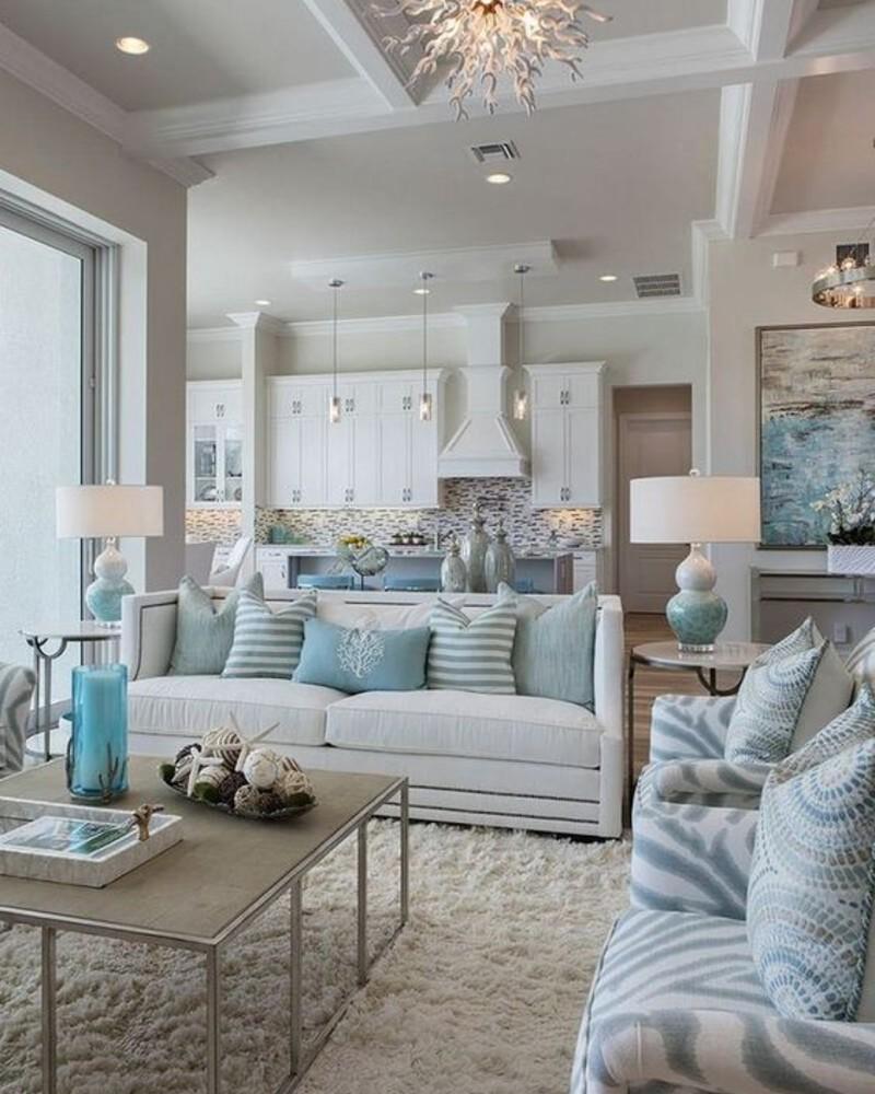 living room design ideas 5 Living Room Design Ideas To Brighten Up Your Summer Season beach house design