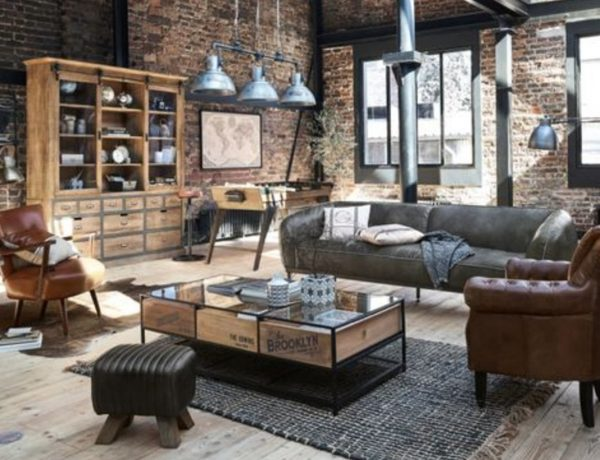 3 Living Room Styles That Will Give You A Charismatic Interior! living room styles 3 Living Room Styles That Will Give You A Charismatic Interior! industrial style 1 1 600x460