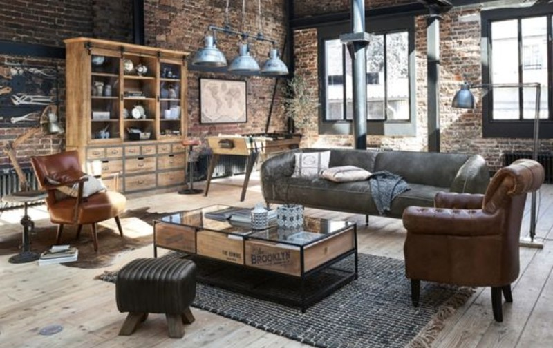 3 Living Room Styles That Will Give You A Charismatic Intérior!  living room styles 3 Living Room Styles That Will Give You A Charismatic Interior! industrial style 1