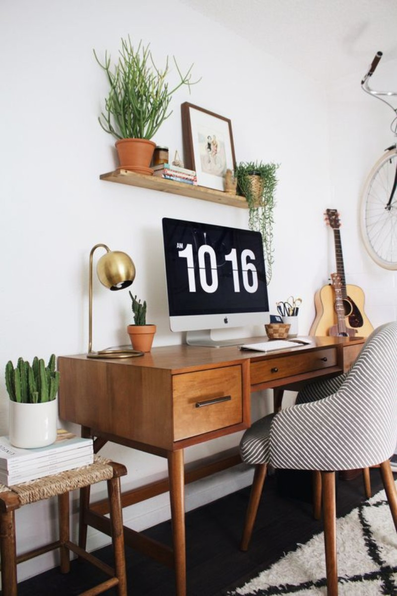5 DIY Home Office Design Ideas - Take back the motivation you need! home office 5 DIY Home Office Design Ideas – Take Back the Motivation you Need! 20 Inspirational Home Office Decor Ideas For 2019 14