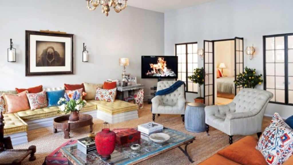 Boho Chic Living Room boho chic living room 5 Boho Chic Living Rooms that are ready for this Summer! 20 Stylish Boho Chic Living Room Design Ideas 15 1280x720 1024x576