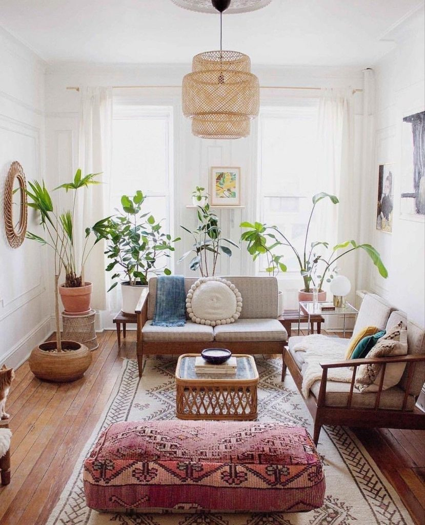 Boho Chic Living Room boho chic living room 5 Boho Chic Living Rooms that are ready for this Summer! 7775f443b33671d18f4422da866f4e80 829x1024