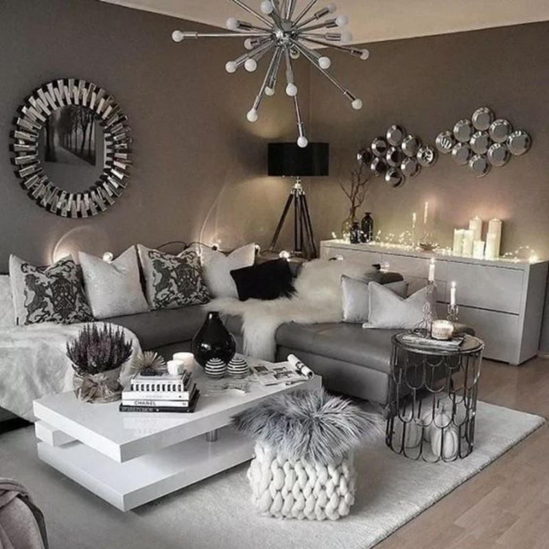 5 Living Room Ideas To Design Your Interior With Grey Tone! living room ideas 5 Living Room Ideas To Design Your Interior With A Grey Tone! Grey 1 2 1