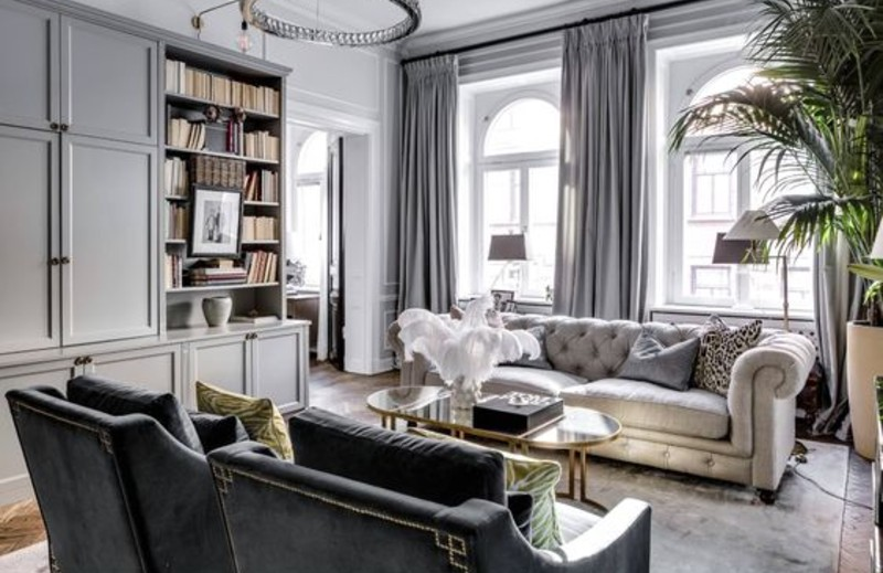 5 Living Room Ideas To Design Your Interior With Grey Tone! living room ideas 5 Living Room Ideas To Design Your Interior With A Grey Tone! Grey 3 1 1
