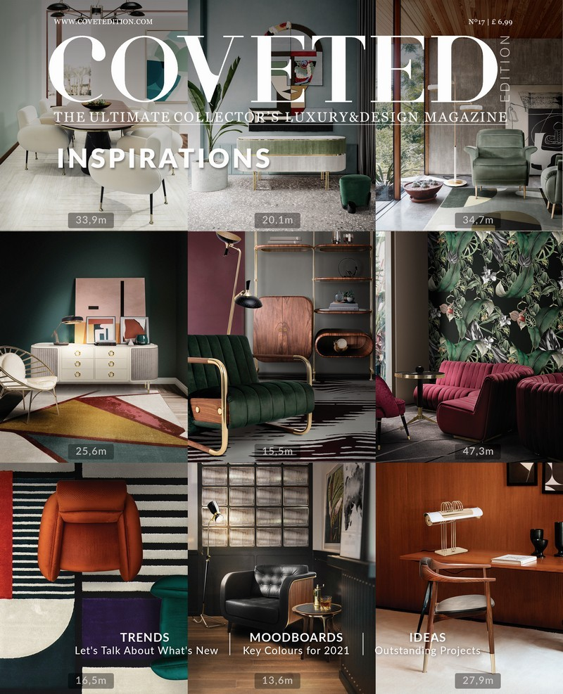 The new edition of COVETED magazine will be the start of a very inspired Summer coveted The New Edition of COVETED Magazine Will Be the Start of a Very Inspired Summer! Top Luxury Design News and Trends With The Incredible CovetED Magazine 9 1