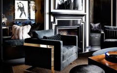 A Black Living Room, Some Inspirations For Your Summer Interior Design! black living room Black Living Room, Some Inspirations For Your Summer Interior Design! black 2 240x150