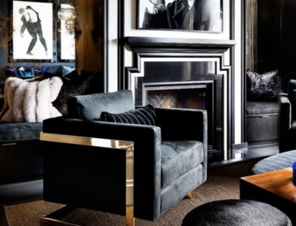 A Black Living Room, Some Inspirations For Your Summer Interior Design! black living room Black Living Room, Some Inspirations For Your Summer Interior Design! black 2 600x460  Living Room Ideas black 2 600x460