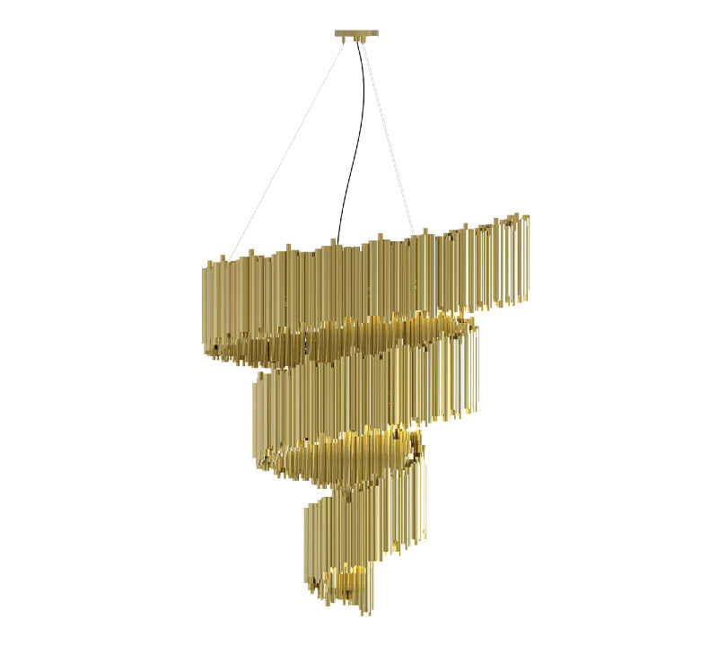 living room The Best Furniture to Give a Luxurious and Expensive Look to your Living Room! brubeck spiral chandelier zoom