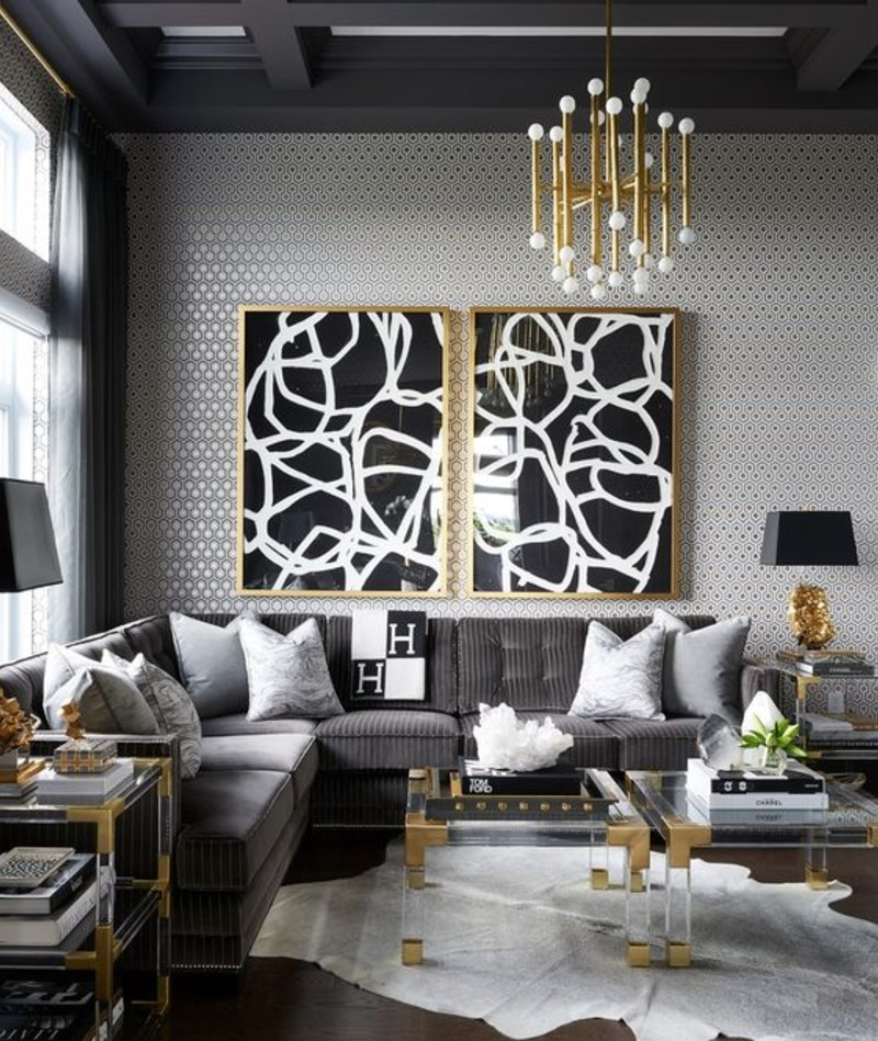 5 Living Room Ideas To Design Your Interior With Grey Tone! living room ideas 5 Living Room Ideas To Design Your Interior With A Grey Tone! grey 4 1 1