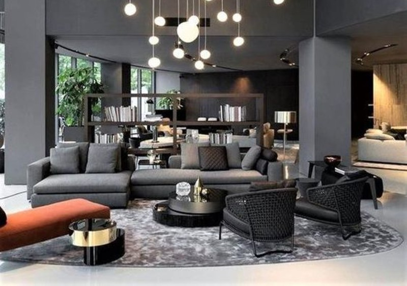 5 Living Room Ideas To Design Your Interior With Grey Tone! living room ideas 5 Living Room Ideas To Design Your Interior With A Grey Tone! grey 5 1 2