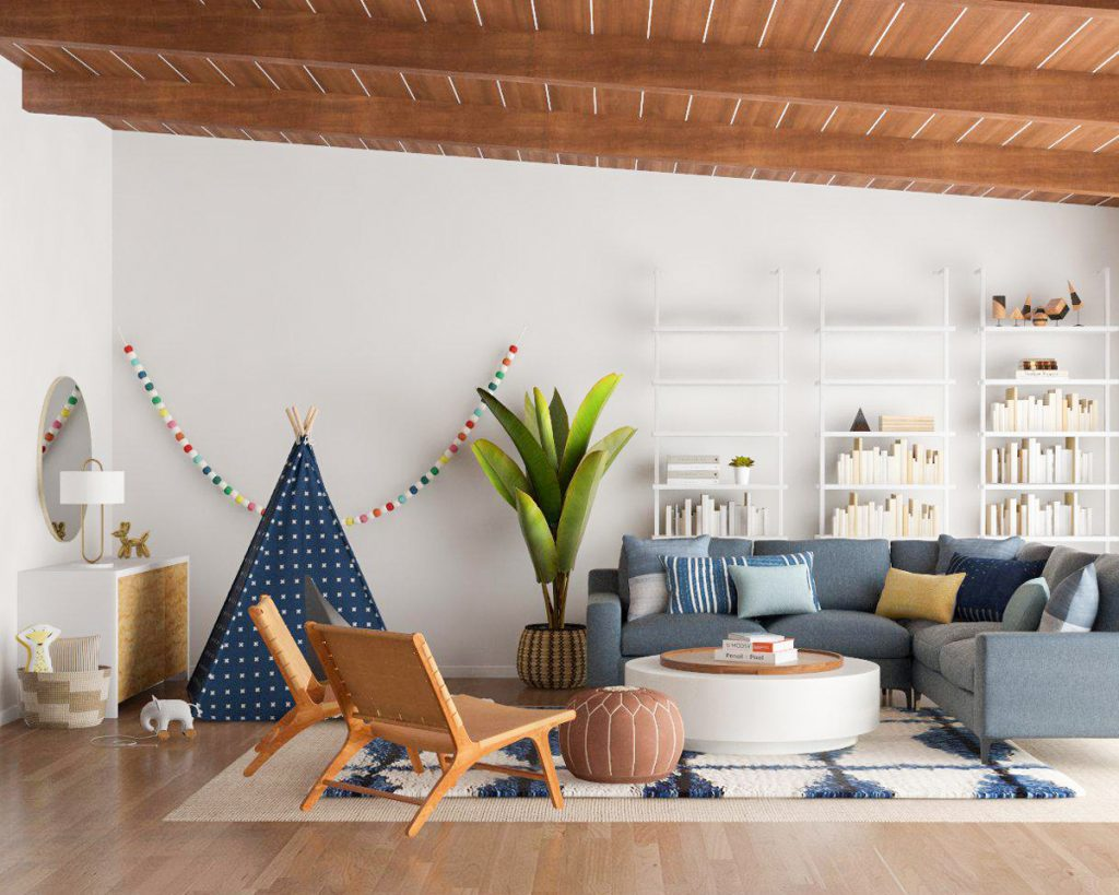 5 Zen décor tips so you can calm down in your living room zen decor 5 Zen Decor Tips so You Can Calm Down in Your Living Room 🧘 kid friendly hero 1024x819