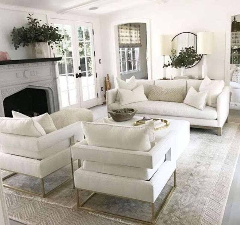 Living Room Ideas To Make The Most Of Your White Sofa This Summer! living room ideas Living Room Ideas To Make The Most Of Your White Sofa This Summer! withe 1 1