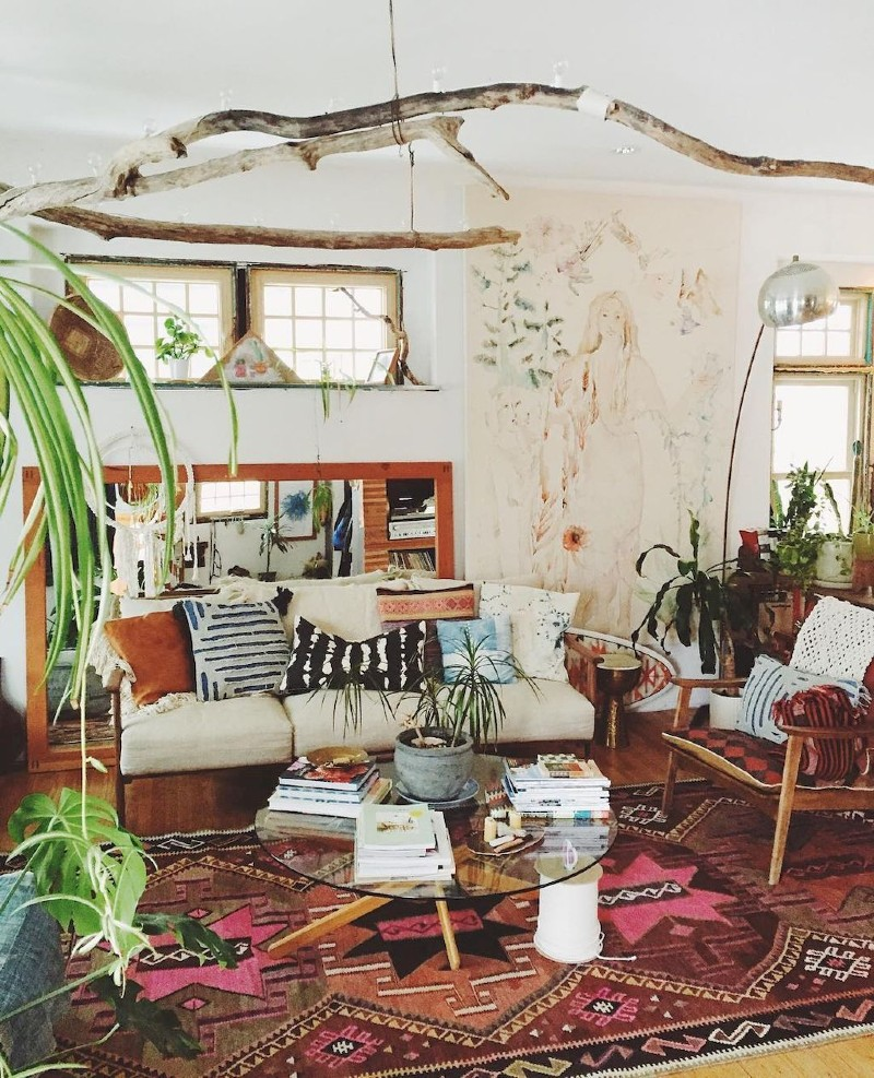 Top 5 Ideas To Create a Boho-Chic Living Room! boho-chic Top 5 Ideas To Create a Boho-Chic Living Room! 2 6