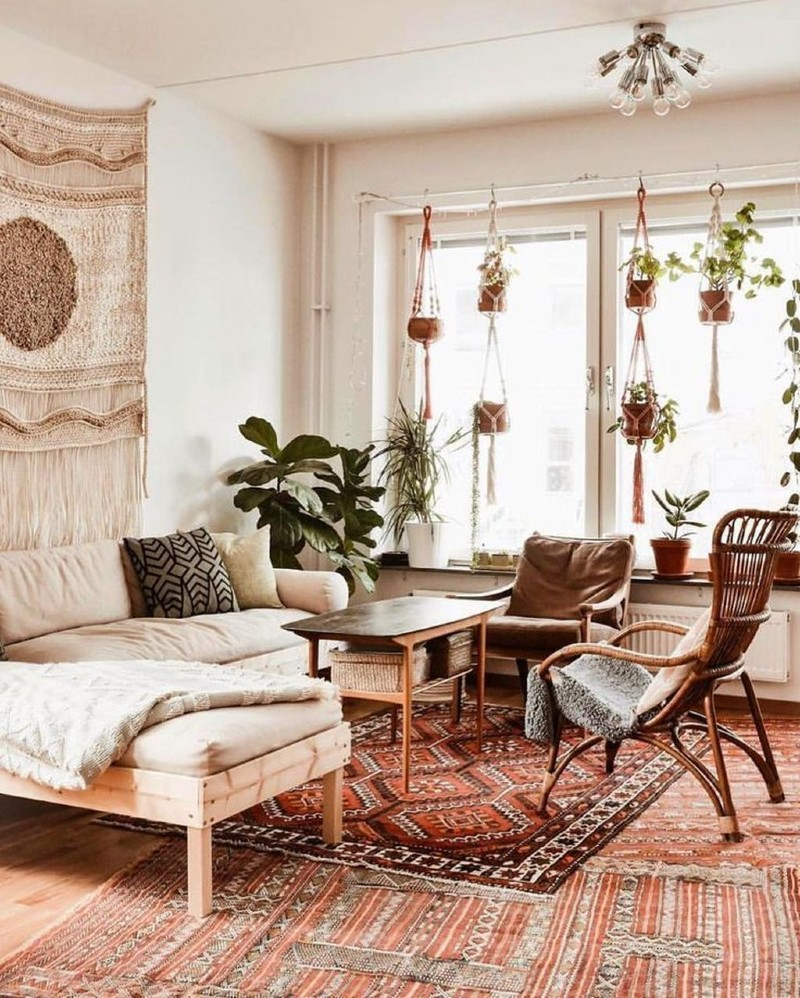 Top 5 Ideas To Create a Boho-Chic Living Room! boho-chic Top 5 Ideas To Create a Boho-Chic Living Room! 3 5