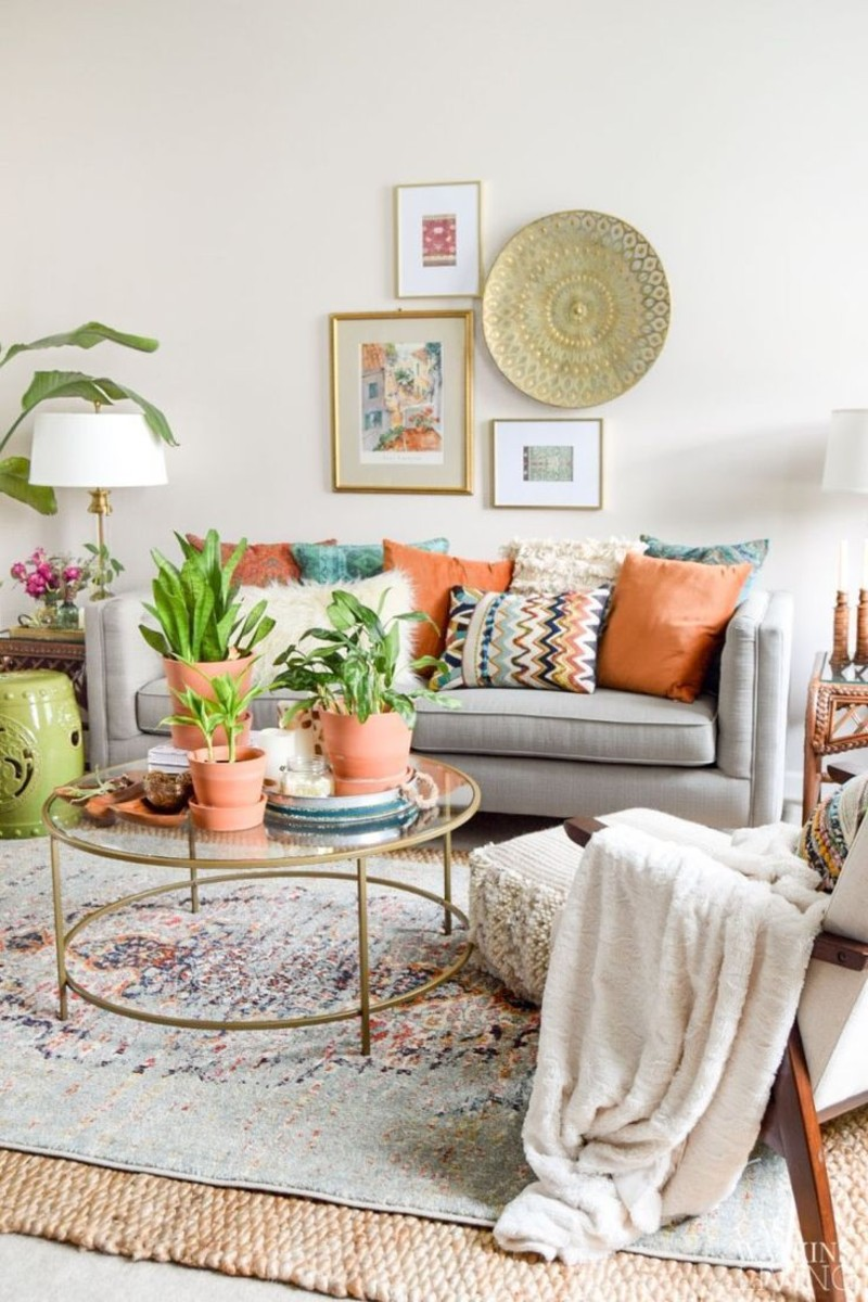 Top 5 Ideas To Create a Boho-Chic Living Room! boho-chic Top 5 Ideas To Create a Boho-Chic Living Room! 4 4