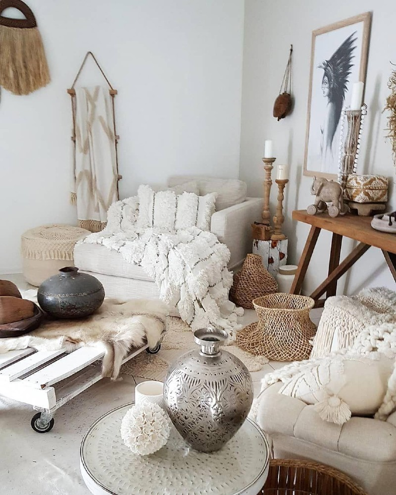 Top 5 Ideas To Create a Boho-Chic Living Room! boho-chic Top 5 Ideas To Create a Boho-Chic Living Room! 5 6