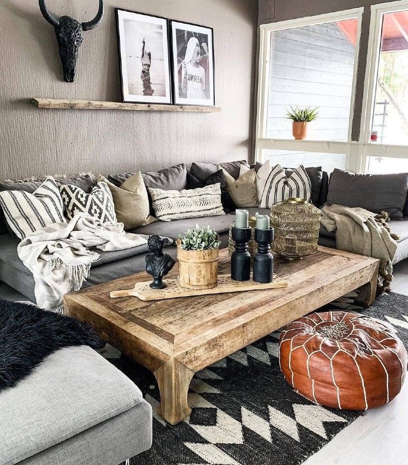 Top 5 Ideas To Create a Boho-Chic Living Room! boho-chic Top 5 Ideas To Create a Boho-Chic Living Room! 6 2