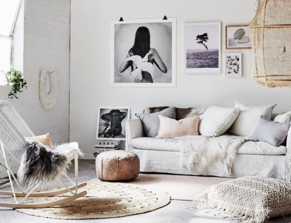 boho-chic Top 5 Ideas To Create a Boho-Chic Living Room! cover 8 600x460