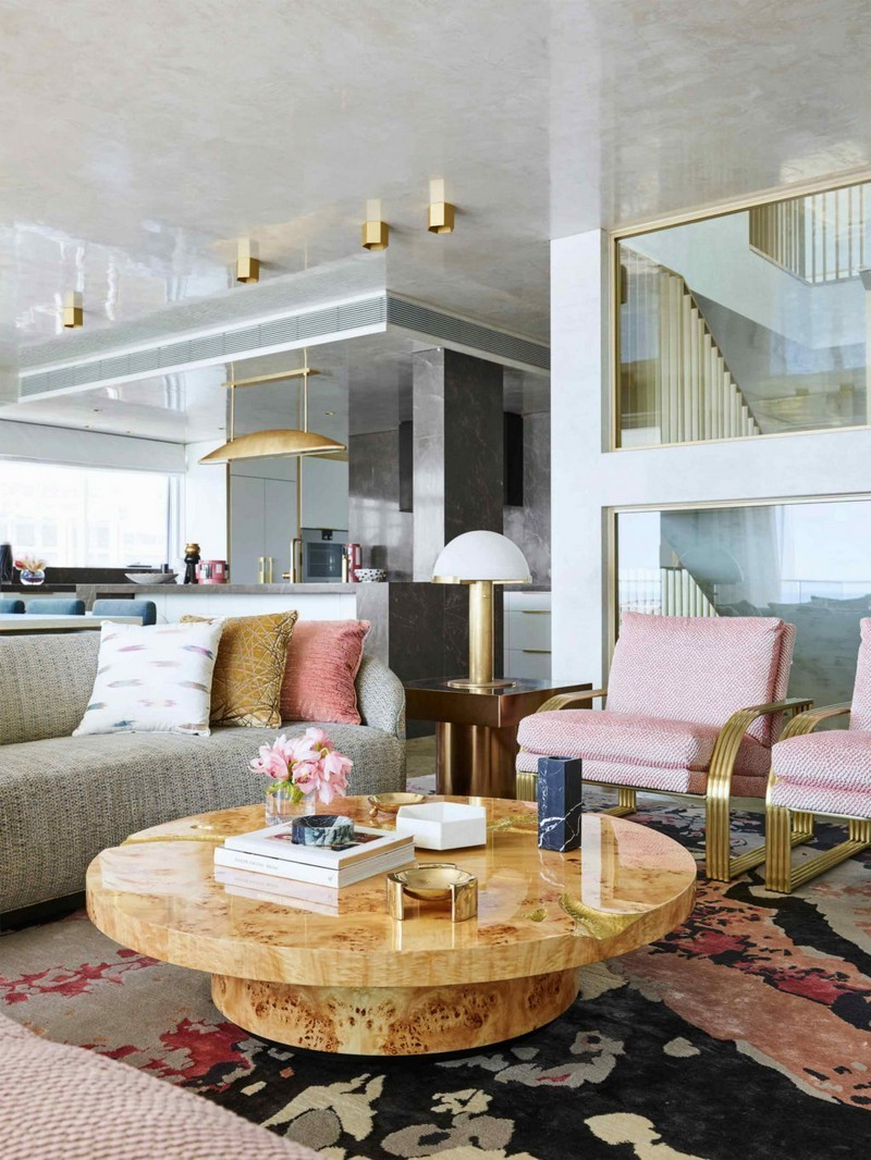 Steal The Look Of Greg Natale's Living Room Set From His New Project In Sydney