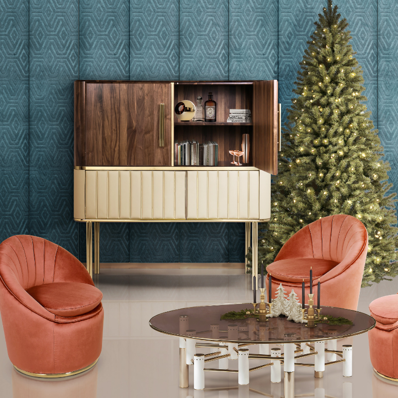 Our Favorite Christmas Decorated Living Rooms You'll Want To Replicate_4