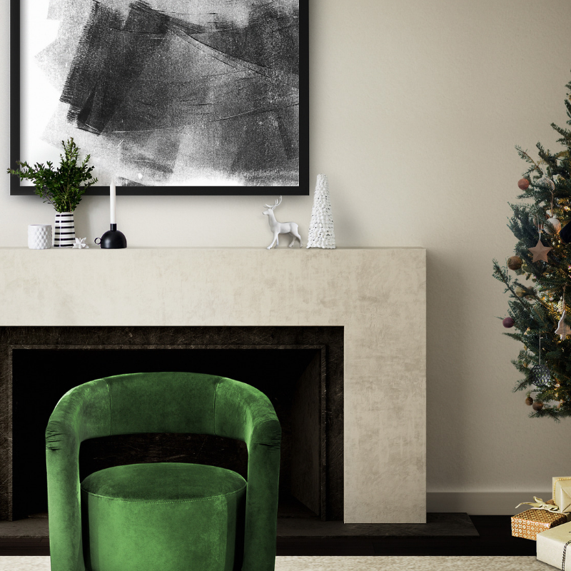 Our Favorite Christmas Decorated Living Rooms You'll Want To Replicate_6