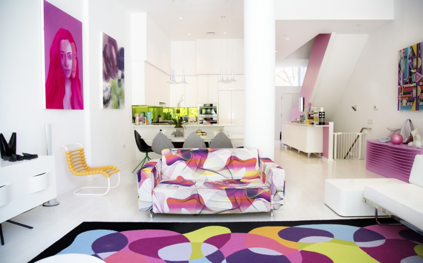 Living Room Ideas LRI Karim Rashid See Inside the Polished Residential Projects That Left Our Editors Speechless 870x540