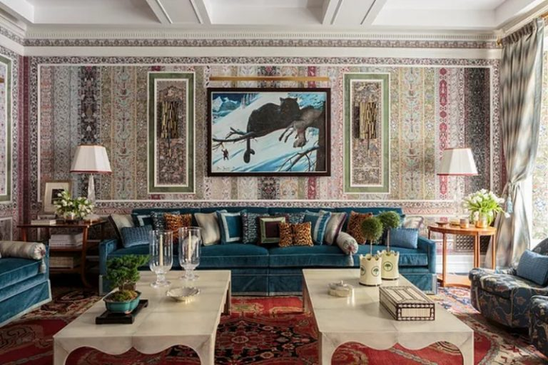 Layered Design and Rich Interiors by Richard Mishaan_10