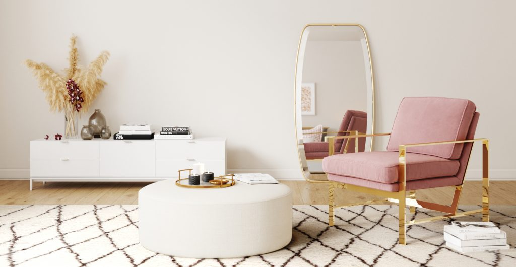 5 Stylish Ways To Add Mid-Century Ottomans In Your Home_1